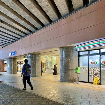 豪徳寺駅周辺には飲食店が多く、賑わっていました。