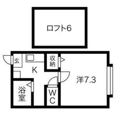 Villa Tsukisappu の間取り
