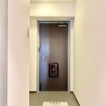 広めの玄関です。
