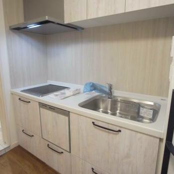 キッチン設備も充実