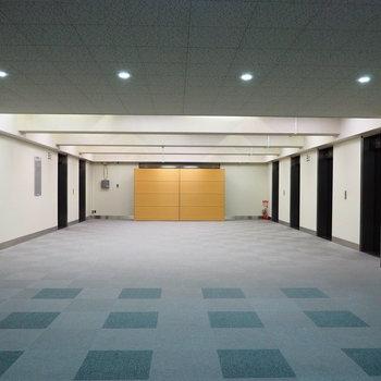 【共用部】エレベーターホール