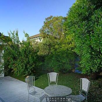 都心ではなかなかない、お庭の緑