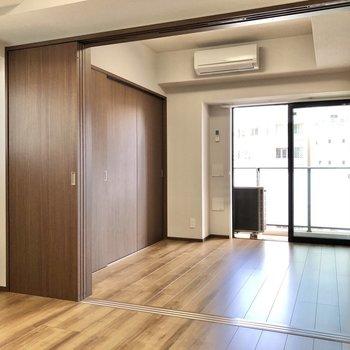 【LDK】※写真は9階の同間取り別部屋のものです