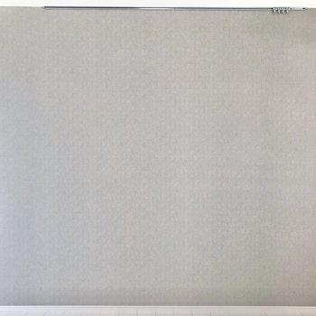 グレーのアクセントクロスにはピクチャーレールも。※写真は4階の反転間取り別部屋のものです