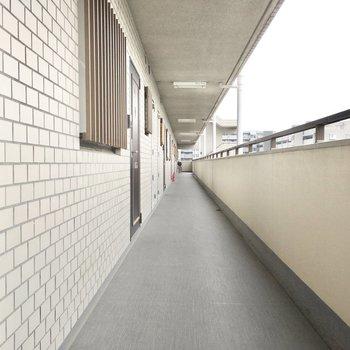 共用部】廊下も綺麗に管理されてます。