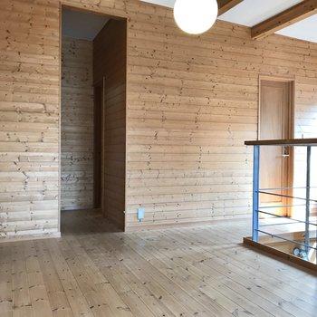 洋室は計3部屋。全部屋にエアコン、テレビ端子付き!では左から順に行きましょう…!