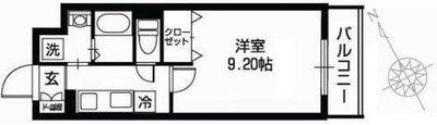 JRBハイツ矢賀駅前 の間取り