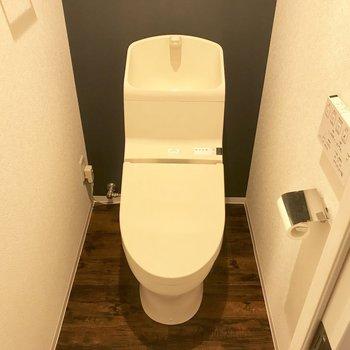 ウォシュレット付きトイレ※写真は同間取り別部屋です