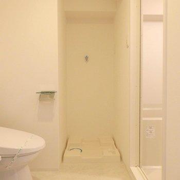 水回りスペース。(※写真は8階の同間取り別部屋のものです)