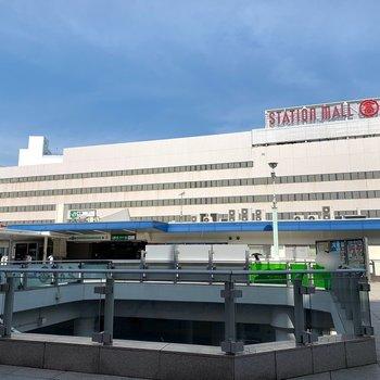 柏駅(東口側)