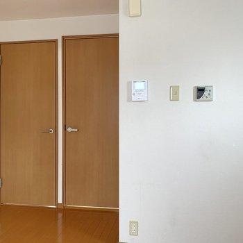 【DK】和室・洋室への扉をしっかり閉めると、お料理の匂いも付きにくくなります。