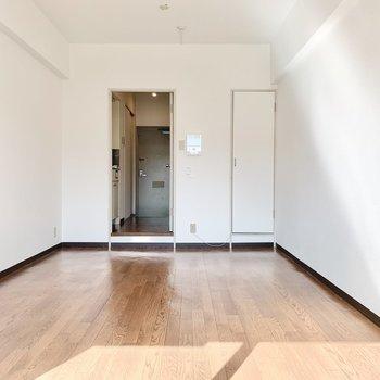 シンプルな間取りなので家具の配置がしやすそう。