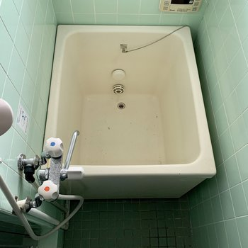 追い炊き付きのお風呂(※写真は5階の反転間取り別部屋のものです)