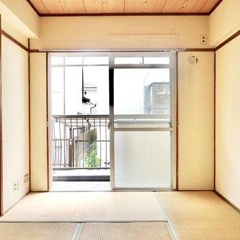 和室は約6帖。寝室やリビングとして。