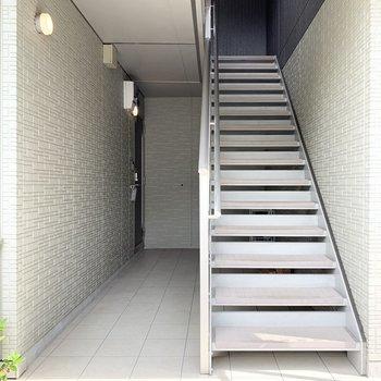上り下りしやすい階段でした。
