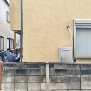 【LDKからの眺望】お隣さんが見えました。