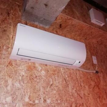 最新のエアコンも完備。
