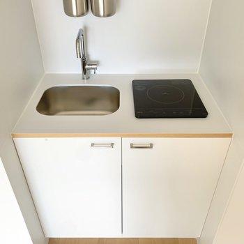 キッチンはIHでお手入れ簡単。