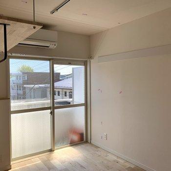 天井収納があります。