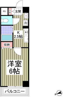 シャトール田口金沢八景の間取り