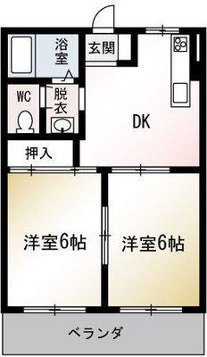 高橋第二ビルの間取り