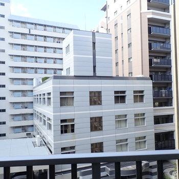 眺望はビルやマンションです。