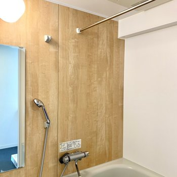 浴室乾燥機もあるので雨の日も便利!