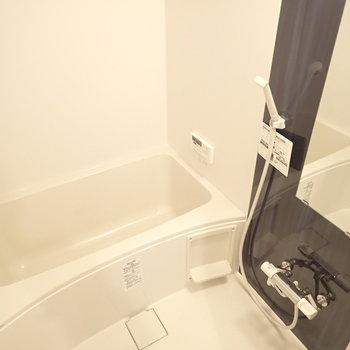 お風呂って気持ちいい。(※写真は1階の同間取り別部屋のものです)