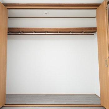 洋室1】ボックスを置いて上手に整理整頓してくださいね!