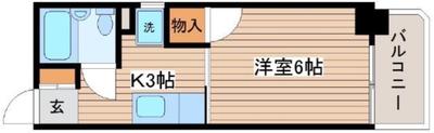ハイライフ橋本町の間取り図