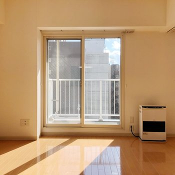 【LD】窓際には植物などの緑を置いておくといいですね。