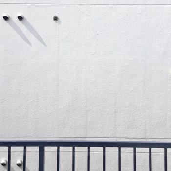 眺望は隣さんの壁なので目線は気になりません。