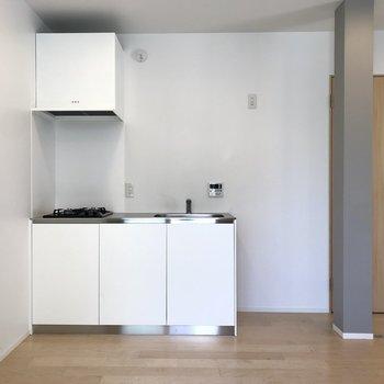 キッチンはとってもシンプル。