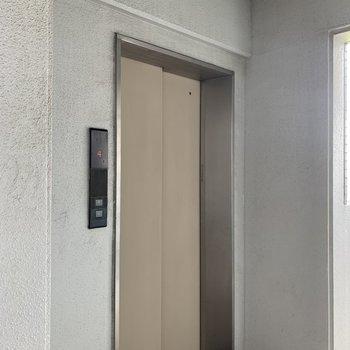 エレベーター付近のお部屋です。