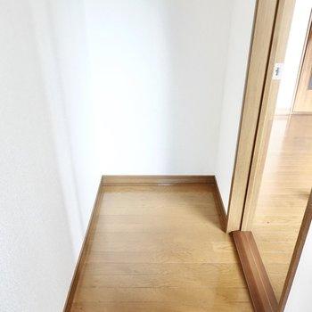 自費にはなりますが、ドア側のスペースに設置できそうです。