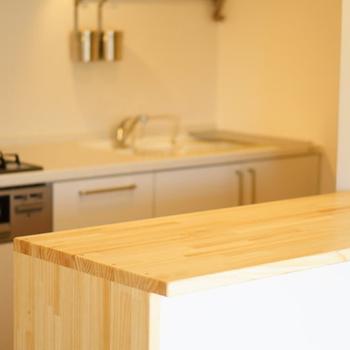 【カスタマイズイメージ①】キッチンカウンターだとお料理がよりしやすく。※選べる期間は期限有り