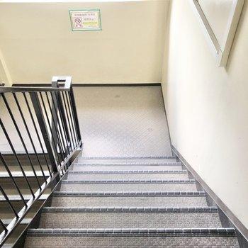 階段部分にも窓があり、閉塞感はありません。