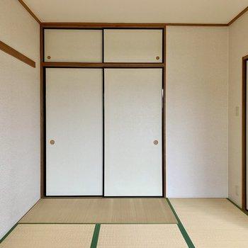 【和室】家具は背が低めのものを選ぶと雰囲気にマッチします。