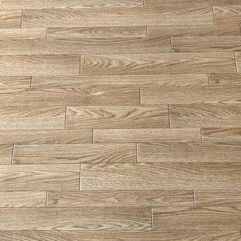 【LDK】床はクッションフロア。お子さんに優しい素材です。