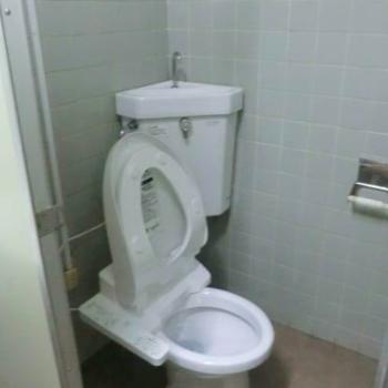 トイレはこちらです