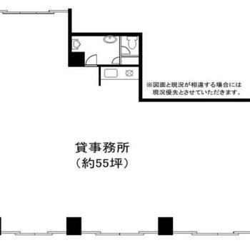 8階建1階部分です