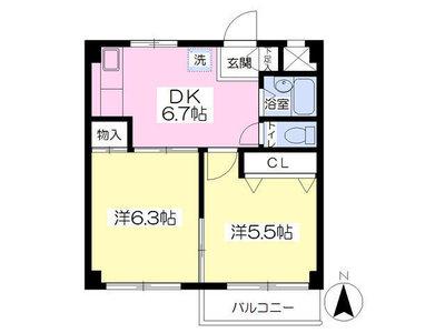 3部屋3色 の間取り