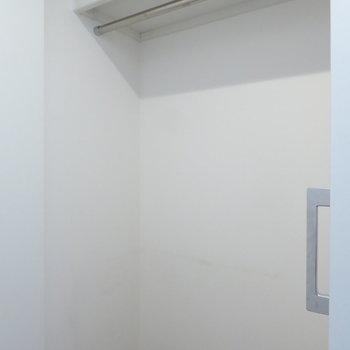 廊下のクローゼット(※写真は4階の同間取り別部屋のものです)