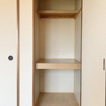 【和室】ボックスを活用して、整理整頓しましょう。