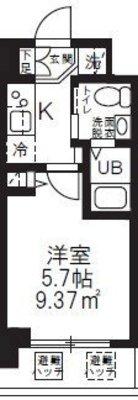 (仮称)新横浜マンション の間取り