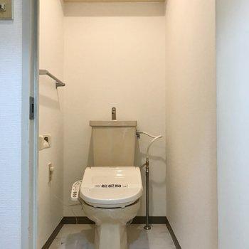 トイレももちろんウォシュレットがありました