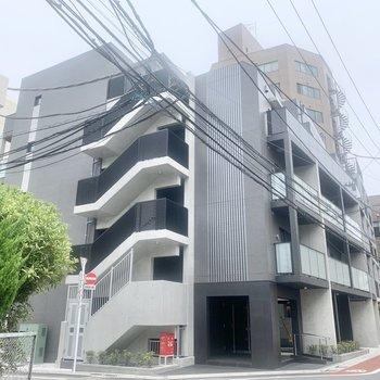 新築のマンションです。