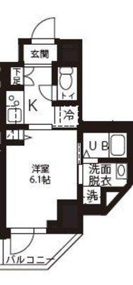 (仮称)新横浜マンションの間取り
