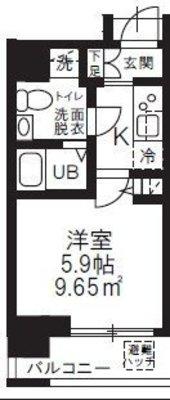 ハーモニーレジデンス新横浜の間取り
