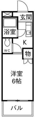 SHINアパートメントハウス扇町の間取り